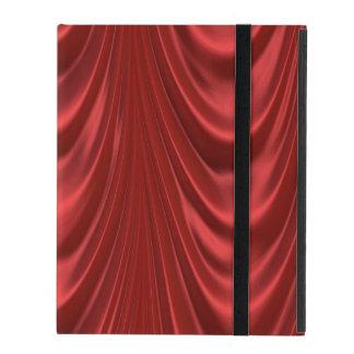 Drama Theatre Stage Curtains Acting Red Theater iPad Folio Case