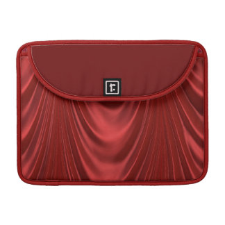 Drama Theatre Stage Curtains Acting Red Theater Sleeves For MacBooks
