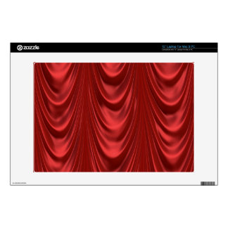 Drama Theatre Stage Curtains Acting Red Theater Laptop Decals