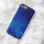 Dramatic Abstract Pattern Electric Blue iPhone 6 Case
