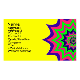 Dramatic and Colorful Stars Double-Sided Standard Business Cards (Pack Of 100)
