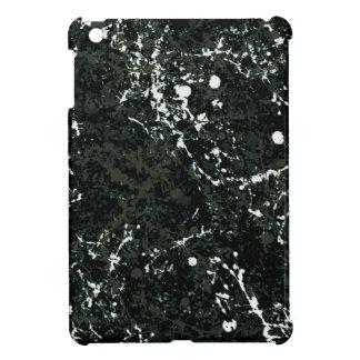 Dramatic Black&White Paint Splatter iPad Mini Case