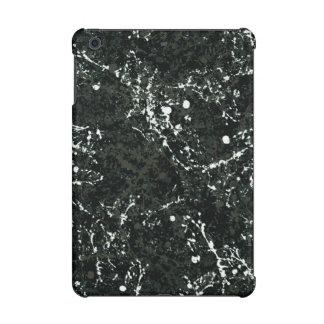 Dramatic Black&White Paint Splatter iPad Mini Cover