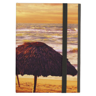 Dramatic carinbbean sunset on the beach cover for iPad air