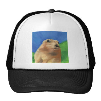 Dramatic Chipmunk Trucker Hat