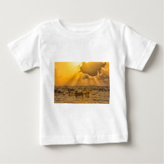 Dramatic cloudscape baby T-Shirt