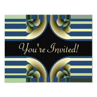 Dramatic! Colorful Abstract - Anniversary Card