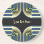Dramatic! Colorful Abstract Coasters