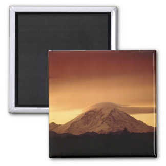 Dramatic Copper Mountain 2 Inch Square Magnet