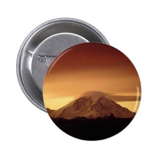 Dramatic Copper Mountain Pinback Button