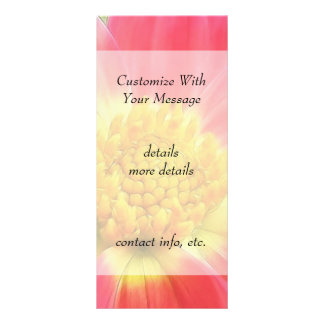 Dramatic Dahlia Custom Rack Card