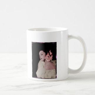 Dramatic Dancer with Flower Coffee Mug