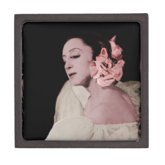 Dramatic Dancer with Flower Gift Box