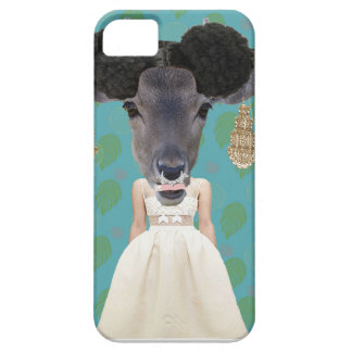 "dramatic ""Deer Lord"" iPhone SE/5S print 