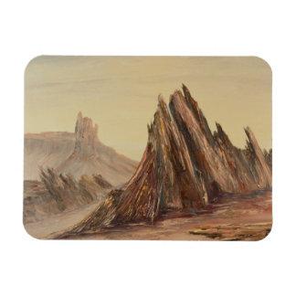 Dramatic Desert Landscape Magnet