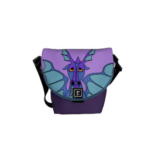 dramatic dragon mini Zero messenger bag