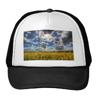 Dramatic Farm Sky Trucker Hat