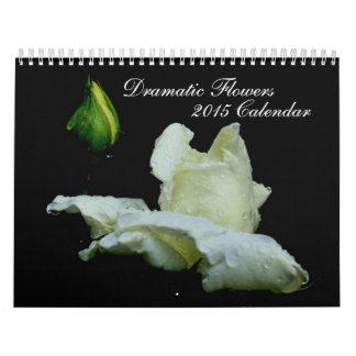 Dramatic Flowers Photography 2015 Calendar