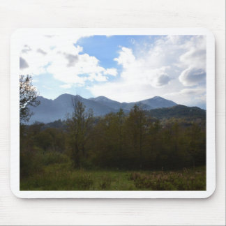 Dramatic Hills And Sky Mouse Pad