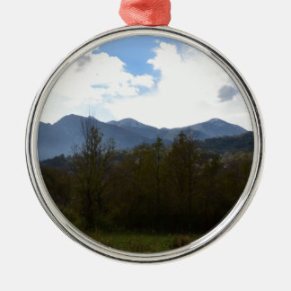Dramatic Hills And Sky Ornament