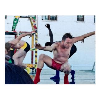 Dramatic Interpretive Dance - Performing Arts Postcard