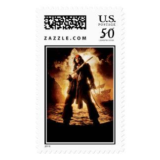Dramatic Jack Sparrow Postage