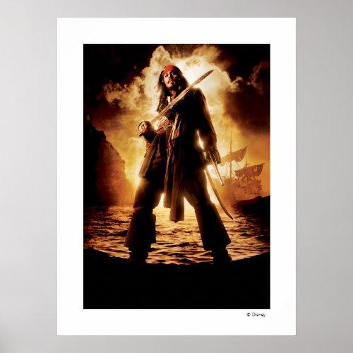 Dramatic Jack Sparrow print