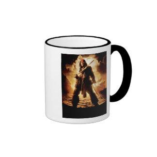 Dramatic Jack Sparrow Ringer Coffee Mug