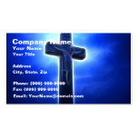 Dramatic Jesus Crucifixion Double-Sided Standard Business Cards (Pack Of 100)