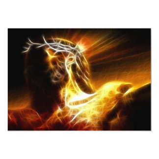Dramatic Jesus Crucifixion Card