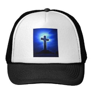 Dramatic Jesus Crucifixion Trucker Hat