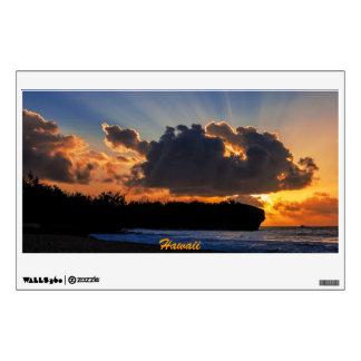 Dramatic Kauai Sunrise Wall Decal