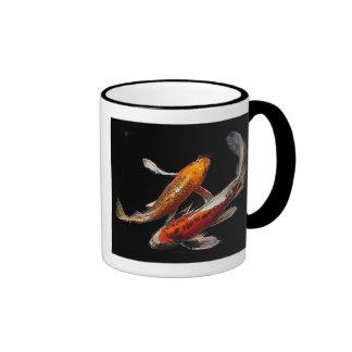 Dramatic Koi Pair Coffee Mug