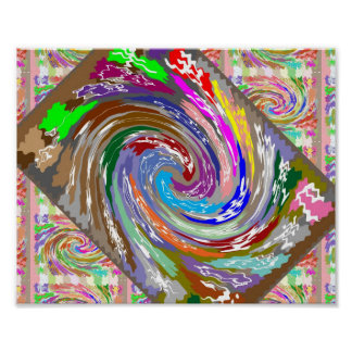 Dramatic Layout :  WAVEs : Cosmos Galaxy Infinity Poster