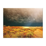 Dramatic Light Breaking Through the Storm Clouds Gallery Wrap Canvas