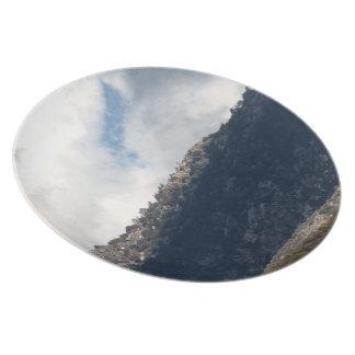 Dramatic Mountain 8 Plate