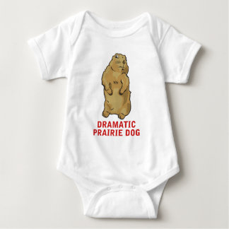 Dramatic Prairie Dog Baby Bodysuit