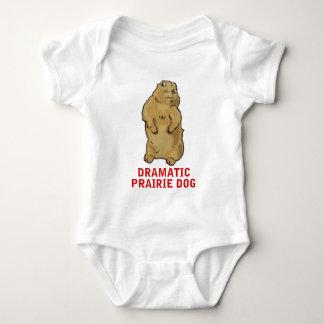Dramatic Prairie Dog Baby Bodysuit