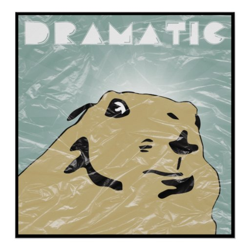 dramatic prairie dog posters