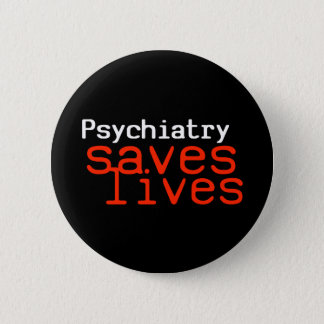Dramatic Pro-Psychiatry Button (Round)