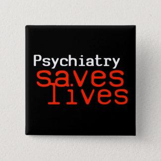 Dramatic Pro-Psychiatry Button (Square)