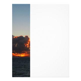 Dramatic Sea Sky at Dawn Flyer