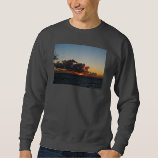 Dramatic Sea Sky at Dawn Sweatshirt