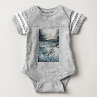 Dramatic Seas Baby Bodysuit