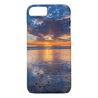 Dramatic seascape, sunset, CA iPhone 8/7 Case
