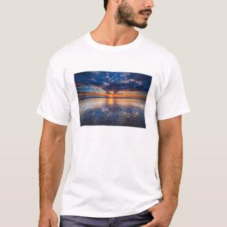 Dramatic seascape, sunset, CA T-Shirt