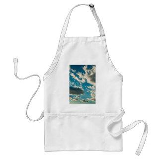 Dramatic sky adult apron