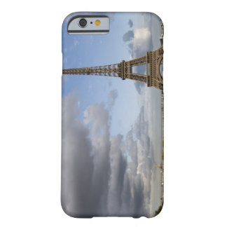 dramatic sky behind Eiffel Tower Barely There iPhone 6 Case