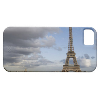 dramatic sky behind Eiffel Tower iPhone SE/5/5s Case