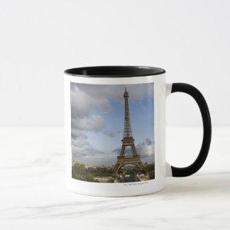 dramatic sky behind Eiffel Tower Mug